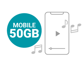 MOBILE 50 GB Affari