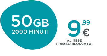 MOBILE 50GB Affari